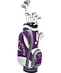 Callaway Women's Solaire Gems 8-Piece Complete Set - Amethyst Purple