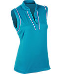 EP Pro Women's Piped Sleeveless Polo