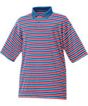 FootJoy Stretch Pique Multi Stripe Polo