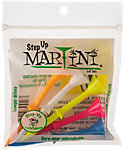 Martini Step Up 3 1/4'' Assorted Golf Tees - 5 Pack