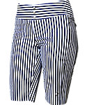 Jofit Women's Striped Bermuda Shorts