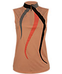 Jamie Sadock Women's Definitely Abstract Sleeveless Polo