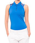 LIJA Women's Tournament Sleeveless Polo