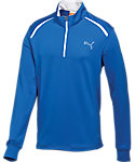 PUMA Boys' 1/4-Zip Long Sleeve Top