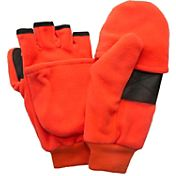 QuietWear Fleece Flip Insulated Mittens