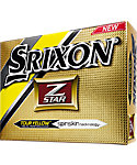 Srixon Z-Star Tour Yellow Golf Balls (ZStar 4) - 12 Pack
