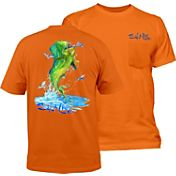 Salt Life Men's Mahi Explosion Pocket T-Shirt