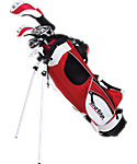 Tour Edge Kids' HT Max-J 4x1 Complete Set (Ages 9-12) - Red