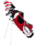 Tour Edge Kids' HT Max-J Complete Set (Ages 9-12) - Red