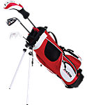 Tour Edge Kids' HT Max-J Complete Set (Ages 3-5) - Red