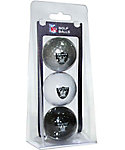 Team Golf NFL Oakland Raiders Golf Balls - 3 Pack