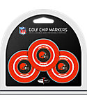 Team Golf Cleveland Browns Golf Chips - 3 Pack