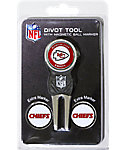 Team Golf Kansas City Chiefs NFL Divot Tool