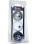 Team Golf NFL Dallas Cowboys Golf Balls - 3 Pack