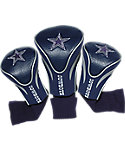 Team Golf Dallas Cowboys NFL Contour Sock Headcovers - 3 Pack