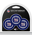 Team Golf New York Giants Golf Chips - 3 Pack