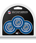 Team Golf Detroit Lions Golf Chips - 3 Pack