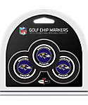 Team Golf Baltimore Ravens Golf Chips - 3 Pack