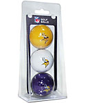 Team Golf NFL Minnesota Vikings Golf Balls - 3 Pack