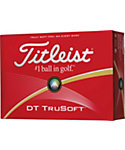 Titleist DT TruSoft Golf Balls - 12 Pack