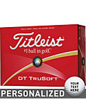 Titleist DT TruSoft Personalized Golf Balls - 12 Pack