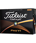 Titleist Pro V1 High Number Golf Balls - 12 Pack