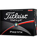 Titleist Prior Generation Pro V1x High Number Golf Balls - 12 Pack