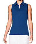 Under Armour Women's Zinger Sleeveless Polo