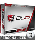 Wilson Staff Duo Personalized Golf Balls - 12 Pack
