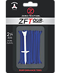 Zero Friction ZFTour 2 3/4'' Blue Golf Tees - 40 Pack