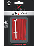 Zero Friction ZFTour 2 3/4'' Red Golf Tees - 40 Pack