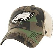 '47 Men's Philadelphia Eagles Burnett Adjustable Camouflage Hat