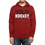 '47 Men's Washington Capitals Headline Pullover Red Hoodie