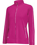 adidas Girls' 3-Stripes Piped Jacket