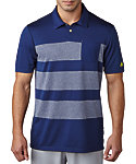 adidas climacool Engineered Heather Stripe Polo