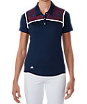 adidas Women's climacool Star Lace Chest Polo