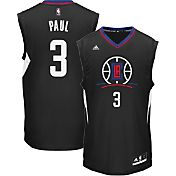 adidas Youth L.A. Clippers Chris Paul #3 Alternate Black Replica Jersey