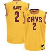 adidas Youth Cleveland Cavaliers Kyrie Irving #2 Alternate Gold Replica Jersey