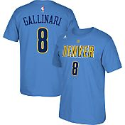 adidas Youth Denver Nuggets Danilo Gallinari #8 Light Blue T-Shirt