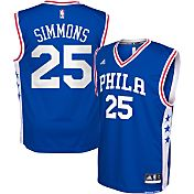 adidas Youth Philadelphia 76ers Ben Simmons #25 Road Royal Replica Jersey