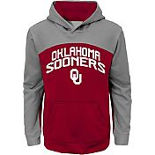 Gen2 Youth Oklahoma Sooners Crimson/Grey Arc Hoodie