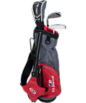 U.S. Kids Golf Ultralight Complete Set (39'' Player Height) - Grey/Red