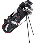 U.S. Kids Golf Tour Series Complete Set (51'' Player Height) - Black/White/Red