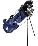 U.S. Kids Golf Tour Series Complete Set (54'' Player Height) - Navy/White/Silver