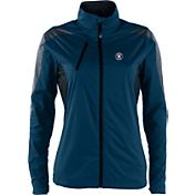 Antigua Women's Houston Astros Full-Zip Navy Discover Jacket