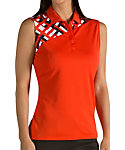 Antigua Women's Mischief Sleeveless Polo