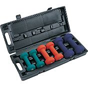 Apex 3-Pair Neoprene Dumbbell Set