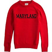 Hillflint Maryland Terrapins Red School Sweater