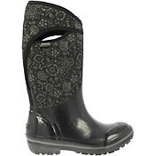 "BOGS Women's Plimsoll Quilted Floral High 13"" Insulated Waterproof Rain Boots"
