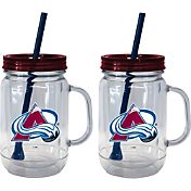 Boelter Colorado Avalanche 20oz Handled Straw Tumbler 2-Pack